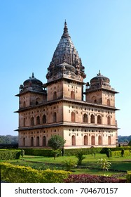 The Chhatris or the cenotaphs in Orchha, India, are the most melancholy ruins of the city in Madhya Pradesh.