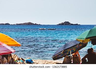 Chia beach in Sardinia