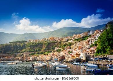 Chianalea di Scilla, fishing village in Calabria, Italy