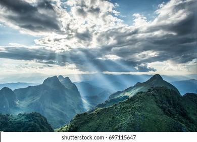 Chiang dao, Chiangmai province, mountain,landscape