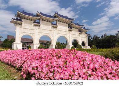 Chiang Kai shek (CKS) Memorial Hall in Taipei, Taiwan