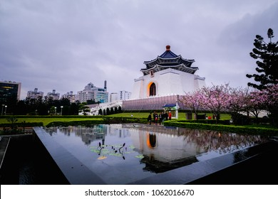 Chiang Kai Shek Memorial Hall, a public tourist attraction place to visit in Taipei, Taiwan