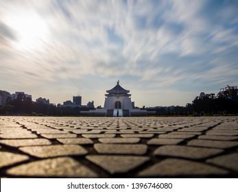 Chiang Kai-shek Memorial Hall, Archway , CKS (Chiang Kai Shek) Memorial Hall, Taipei, Taiwan.