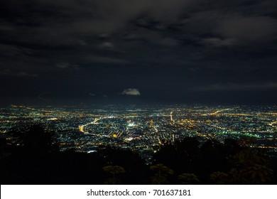 Chiang Mai City from Doi Suthep