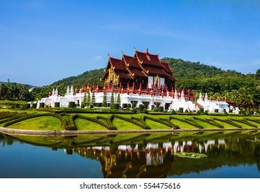 Chiang Mai ,Royal park Rajapruek at Chiang Mai in Thailand