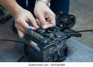 Chiang Mai, Thailand, 01/02/2018 : Tool Cable Craftsman Tools