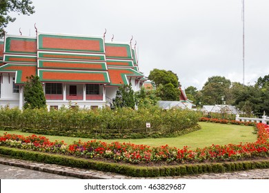 CHIANG MAI , THAILAND - Aug 3 : Phuping Palace is the Royal winter residence of the Thai Royal Family on Augus 3 , 2016 in Chiang Mai, Thailand