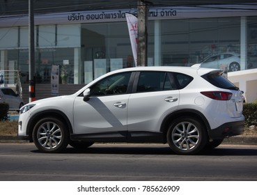 CHIANG MAI, THAILAND -DECEMBER 15 2017: Private car, Mazda CX-5,cx5. On road no.1001, 8 km from Chiangmai Business Area.