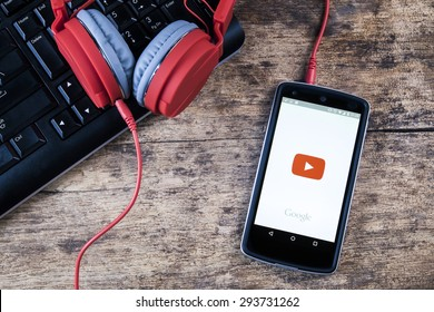 Youtube Music Images, Stock Photos & Vectors | Shutterstock