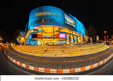 CHIANG MAI, THAILAND - JUNE 16, 2019 : Maya Lifestyle Shopping Center is a world-class shopping mall and urban lifestyle hub in the Nimmanhaemin district of Chiang Mai, Thailand.