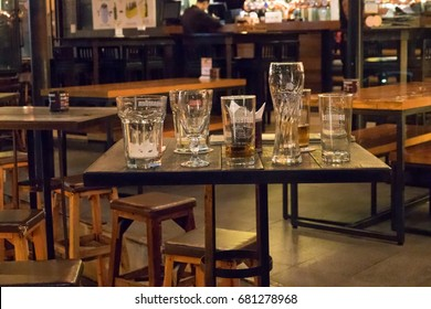 empty bar counter pub stock photo edit now 637804777 shutterstock