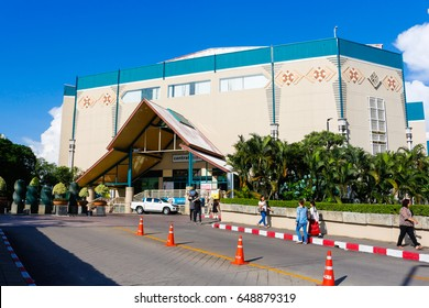 CHIANG MAI, THAILAND, May 26, 2017: CentralPlaza Chiangmai Airport, Lifestyle Shopping Center is a world-class shopping mall and urban lifestyle hub