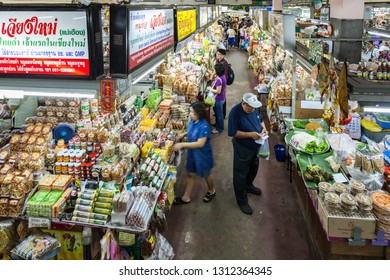 CHIANG MAI, THAILAND - NOVEMBER 08, 2014: Warorot is a very popular local market in Chiang Mai, Thailand.