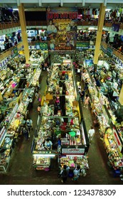 Chiang Mai, Thailand - November 13, 2018: Warorot Market or Kad Luang, The largest local market in Chiang Mai city.