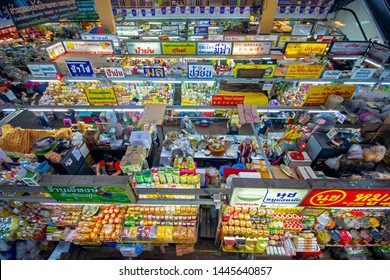 CHIANG MAI,THAILAND JULY 01,2019Atmosphere of Warorot market(KAD LUANG),wide range of ready-to-eat meals, local snacks and fresh produce also clothing,fashion accessories, personal care products