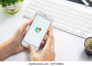 Iphone Google Maps Images, Stock Photos & Vectors | Shutterstock