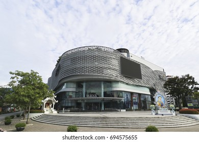 CHIANG MAI,THAILAND,AUGUST 12,2017 : MAYA Lifestyle Shopping Center shopping mall and urban lifestyle hub in the Nimmanhaemin district of Chiang Mai