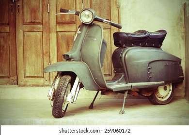 Vespa Vintage Images, Stock Photos & Vectors | Shutterstock