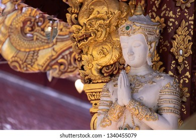 Chiang rai Wat Pra Sing is a Buddhist temple contains Budda image in the history of the Lanka wong Theravada Buddhism in Thailand.wat pra sing is one of famous landmark in chiangrai,thailand