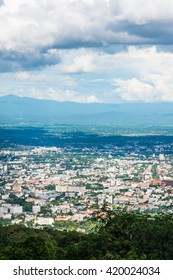 Chiangmai city at view point, Thailand.
