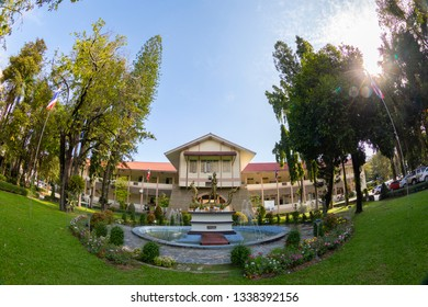 CHIANGMAI, THAILAND - DEC1 2018: Maejo University (MJU) is considered Thailand's oldest agricultural institution.