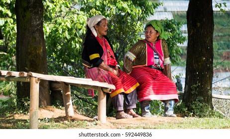 Chiangmai , thailand - FEB 25,2016 :  north thailand culture