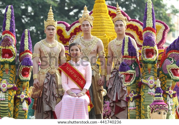 Thai men dressed as women