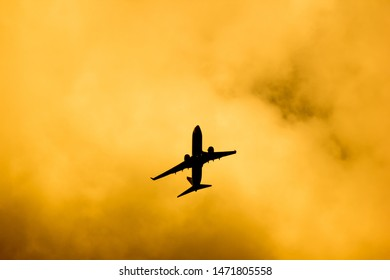 Chiangmai, Thailand - July 29 2019: HS-DBG Boeing 737-800 of NokAir . Take off from Chiangmai airport to Bangkok.