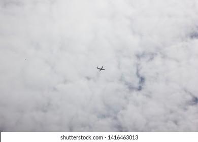 Chiangmai, Thailand - June 3 2019: HS-PZD ATR72-600 of Bangkok Airway. Flight for  Chiangmai airport and Luang Prabang.