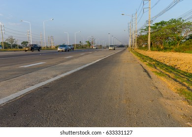 ChiangMai, Thailand. March, 12-2017: New highway of Chiang Mai city has been built for traveling to nearby provinces.