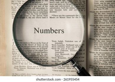 """CHIANGMAI, THAILAND, March 17,2015. Reading The New International Version of the Holy Bible on the book of """" numbers """" at home. March 17,2015"""