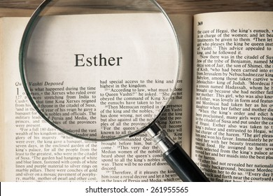 """CHIANGMAI, THAILAND, March 17,2015. Reading The New International Version of the Holy Bible on the book of """" esther """" at home. March 17,2015"""
