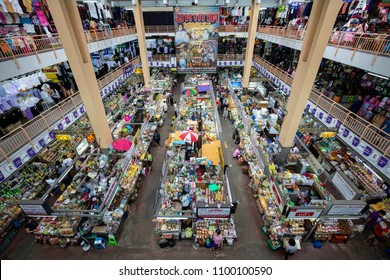 CHIANGMAI, THAILAND- MAY 22 2018: Warorot Market (Kad Luang). Tradition product Market for Tourist and Local people. Chiangmai, thailand.