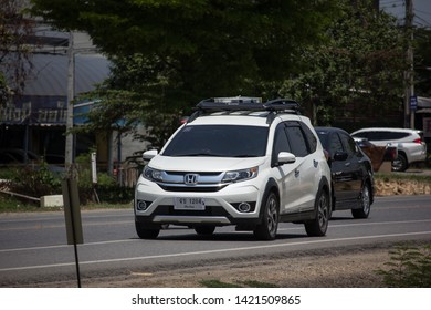 Chiangmai, Thailand - May 27 2019: Private Car, Honda BRV City Suv Car. On road no.1001, 8 km from Chiangmai city.