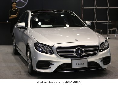 CHIANGMAI, THAILAND - OCTOBER 14, 2016 : Mercedes-Benz C 250 Coupe on display at Central Plaza Chiangmai