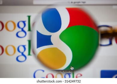 CHIANGMAI, THAILAND - September 1, 2015:Google is an American multinational corporation specializing in Internet-related services and products. Most of its profits are derived from AdWords.