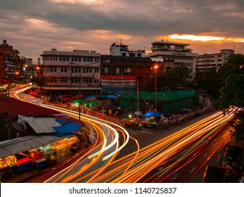 CHIANGMAI,THAILAND - July 24, 2018 Night Warorot Market, locally called Kad Luang, is the one of Chiang Mai's largest market.The place to go to buy cheaper and better quality goods.