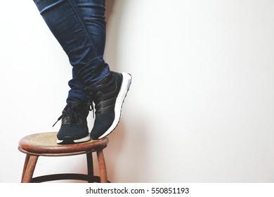 CHIANGRAI, THAILAND - January 7, 2017: Adidas ultra boost 3.0 runner shoes