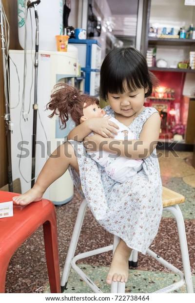 Chiangrai Thailand9 26 2017 Baby Barber Stock Photo Edit Now 722738464