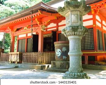 Chiba,Japan ,july,15, 2017:Katori Jingugu in Chiba is a famous power spot in Japan