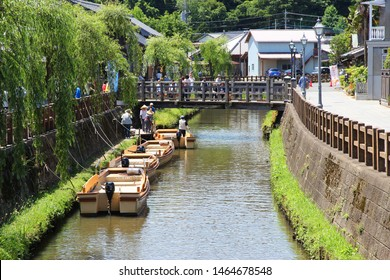 Chiba,Japan - June 4,2017 : Sawara located in northeastern part of Chiba.Important Preservation District for Groups of Traditional Building