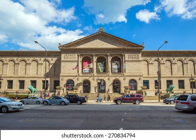 CHICAGO - April 10 : The Art Institute of Chicago has one of the world's most notable collections of Impressionist and Post-Impressionist art, onApril 10, 2015 in Chicago, Illinois, USA.