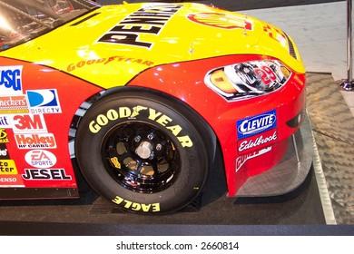 Chicago Auto Show shell Nascar