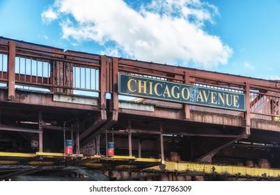 Chicago Avenue Bridge Detail