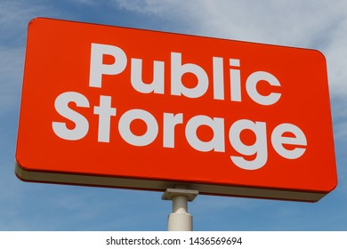 Chicago - Circa June 2019: Public Storage self storage location. Public storage is run as real estate investment trust (REIT) and provides moving services I