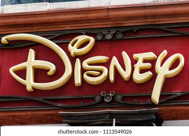 Chicago - Circa May 2018: Disney Store Retail Mall Location. Disney Store is the Official Site for Disney Shopping I