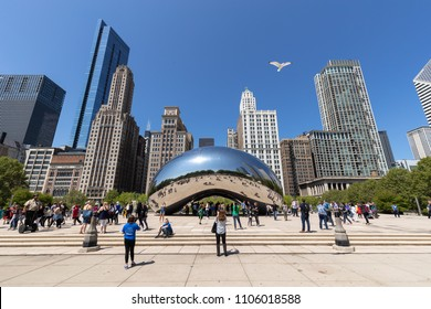 CHICAGO - CIRCA MAY 2018: Millennium Park