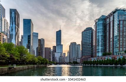 Chicago City Riverwalk