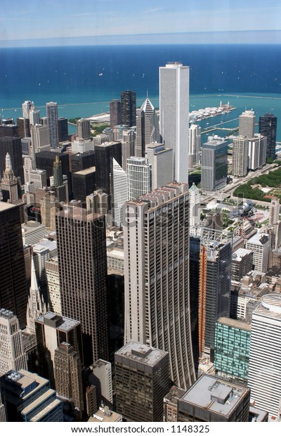 Chicago Downtown Seen Top Floor Sears Stock Photo Edit Now 1148325
