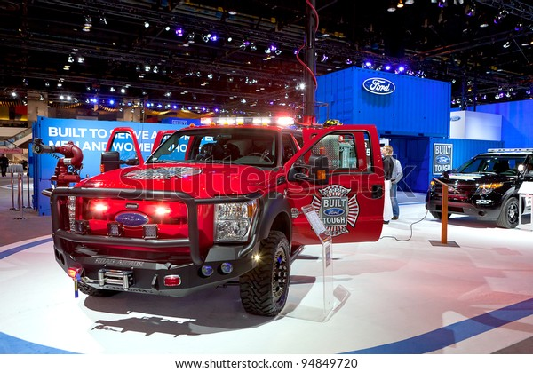 Ford First Responder >> Chicago Feb 9 Ford First Responder Stock Photo Edit Now